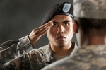 Military Salute from iStock